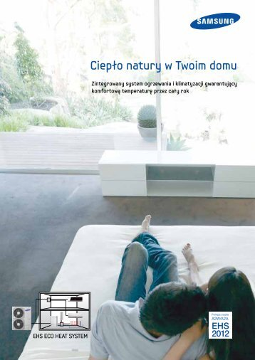 Katalog pomp ciepła SAMSUNG EHS - Clima-Comfort