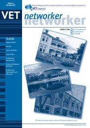 networker - VETnetwork Australia
