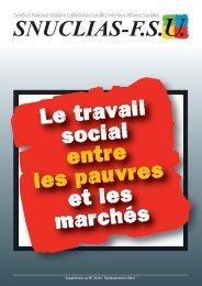 Le travail social entre les pauvres et les marchés - Le SNUCLIAS