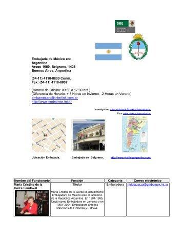 Embajada de México en - México Diplomático
