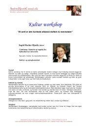 Kultur workshop - AndersHjorthConsult