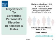 handouts – Dr. Goodman - Borderline Personality Disorder