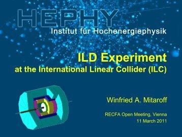 ILD Experiment - HEPHY