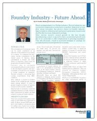 Foundry Industry - Future Ahead. - Metalworld.co.in