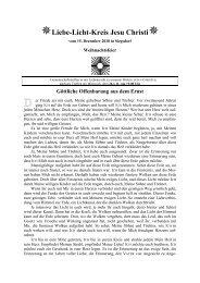 Druckansicht PDF-Datei ( 90 KB ) - Liebe-Licht-Kreis Jesu Christi