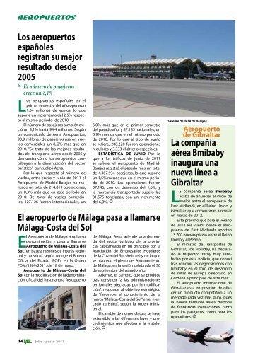 Aeropuertos - TAT Revista - Transporte Aéreo & Turismo