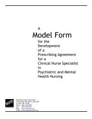 Clinical Nurse Specialist in Psychiatric and Mental Health Nursing ...