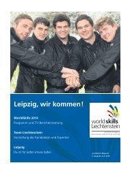 Leipzig, wir kommen ! - worldskills Liechtenstein