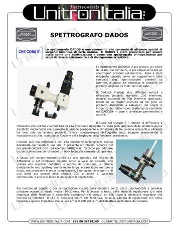 SPETTROGRAFO DADOS - Unitron Italia