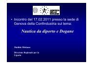 Misitano 17 febbraio 2011 - Confindustria Genova