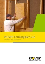 ISOVER Formstykker λ32