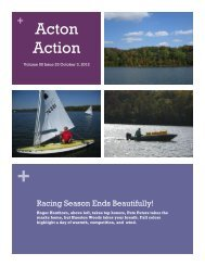 October 3, 2012 Issue 23 - Hueston Sailing Association