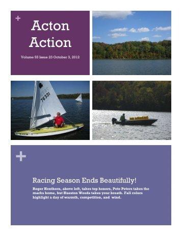 October 3, 2012 Issue 23 - Hueston Sailing Association