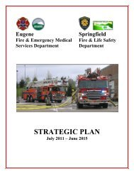 July 2011 - June 2015 Strategic Plan - City of Springfield