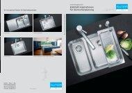 Edelstahl-Inspirationen für die Küchenplanung - Suter