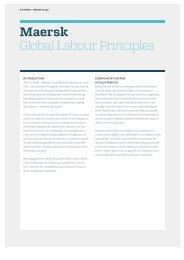 Maersk Global Labour Principles - Maersk Drilling