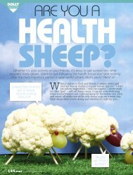 Are you a health sheep? - Kimberly Gillan