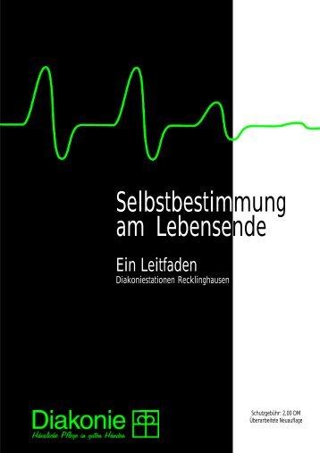 Selbstbestimmung am Lebensende - Rechtsanwalt Gisbert Bultmann