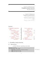 Probability density functions - Anthony Tanbakuchi