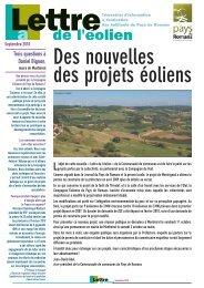Lettre de l'éolien 5 - Plan Climat du Pays de Romans - Communauté ...