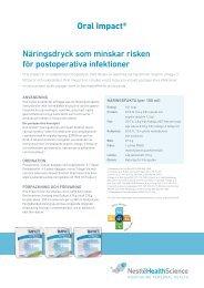 Oral Impact - Nestlé Nutrition
