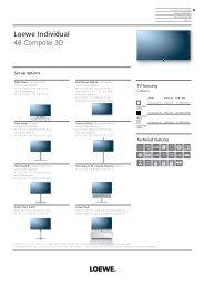 Loewe Individual 46 Compose 3D - New Fidelity
