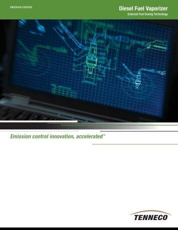 Diesel Fuel Vaporizer - Tenneco Inc.