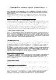 Wet betreffende de rechten van de patiënt ... - AZ Sint-Maarten