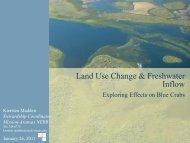 Land Use Change & Freshwater Inflow - Mission - Aransas National ...