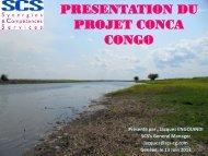 PRESENTATION DU PROJET CONCA CONGO - EMRC