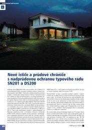 Nové ističe a prúdové chrániče s nadprúdovou ... - ATP Journal