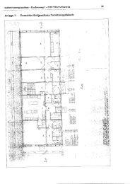 AnlageT: Grundriss Erdgeschoss Funktionsgebäude - Bischofswerda