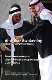 Al-Anbar Awakening Volume II - Iraqi Perspective - Headquarters ...