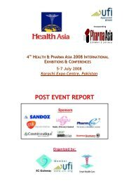 Post Event Report 2008 - Health Asia
