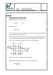 1.2. Grundlagen - Versuch 2 (Datei: Linsen2_Grundlagen.pdf)
