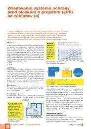 Zriaďovanie systému ochrany pred bleskom a ... - ATP Journal