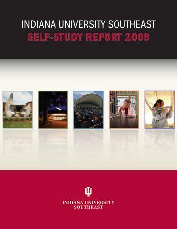 SELF-STUDY REPORT 2009 - Indiana University Southeast