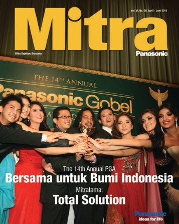 Mitra Panasonic April - Juni 2011 - KWN Indonesia