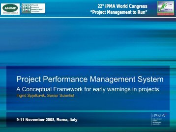Project Performance Management System