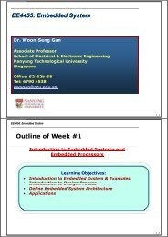 Week 1 - Division of Information Engineering - Nanyang ...