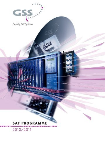 SAT PROGRAMME 2010/2011 - Hotel Technology Solutions
