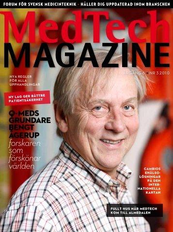 forskaren som förs könar världen - Medtech Magazine