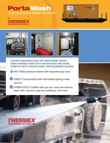 Download Brochure -  Thermex Engineered Systems Inc.