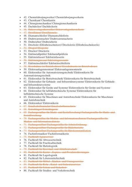 Download Ausbildungsberufe - Fakultät für Maschinenbau
