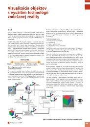 Vizualizácia objektov s využitím technológií zmiešanej ... - ATP Journal