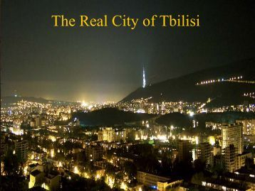 Real City of Tbilisi
