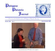 Philippine Philatelic Journal - International Philippine Philatelic ...