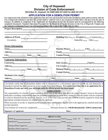 Worcester County Md Building Permit Application