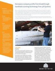 Aerospace company profits from breakthrough handheld scanning ...