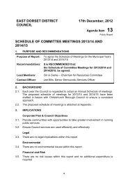 schedule of committee meetings 2013/14 and 2014/15